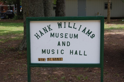 O'Dell's museum is host to all things Hank Williams. (Photo by Nathan Simone)