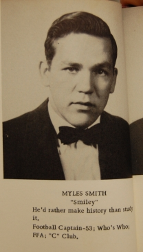 Myles Smith, Collinsville community partner with Living Democracy, as he appeared in 1954.